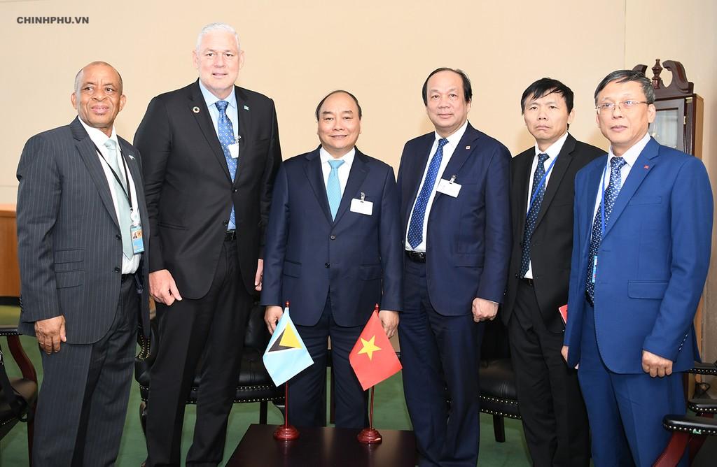 Chùm ảnh: Hoạt động của Thủ tướng Nguyễn Xuân Phúc tại LHQ - ảnh 10