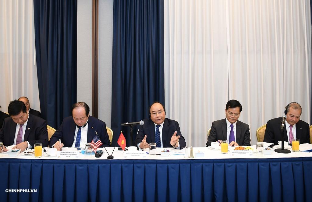 Chùm ảnh: Hoạt động của Thủ tướng Nguyễn Xuân Phúc tại LHQ - ảnh 5