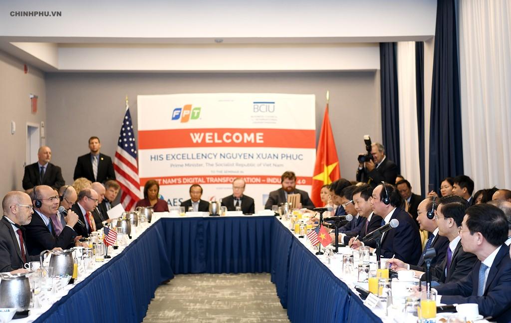 Chùm ảnh: Hoạt động của Thủ tướng Nguyễn Xuân Phúc tại LHQ - ảnh 6