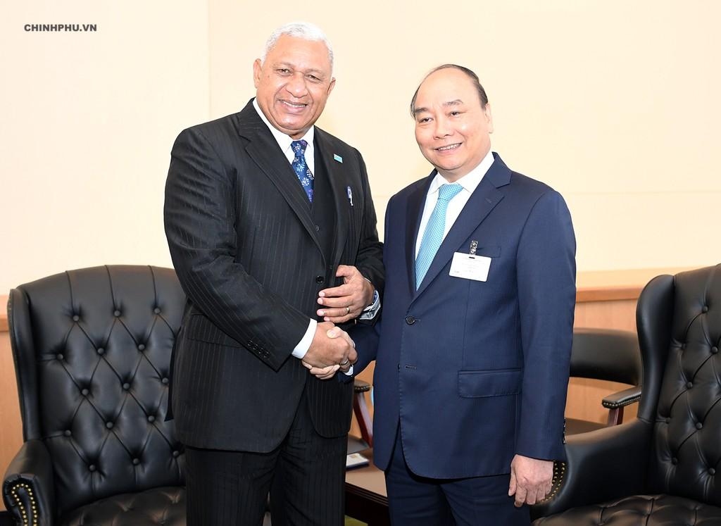Chùm ảnh: Hoạt động của Thủ tướng Nguyễn Xuân Phúc tại LHQ - ảnh 9