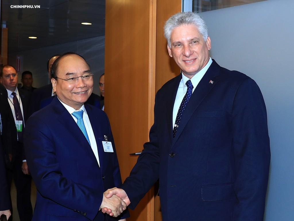 Thủ tướng tiếp xúc song phương tại Đại hội đồng Liên Hợp Quốc - ảnh 1