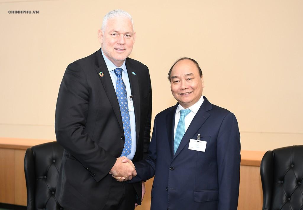 Thủ tướng tiếp xúc song phương tại Đại hội đồng Liên Hợp Quốc - ảnh 5