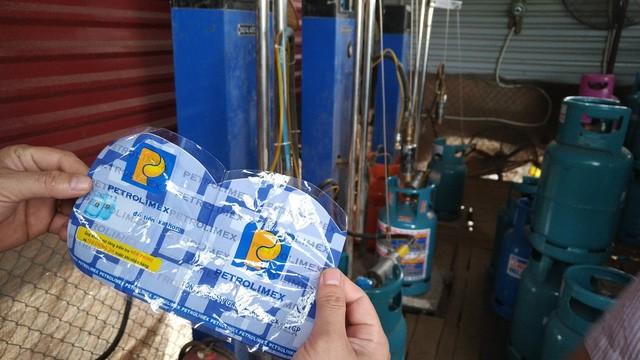 Hải Dương: Triệt xóa xưởng sang chiết gas trái phép có camera giám sát - ảnh 7