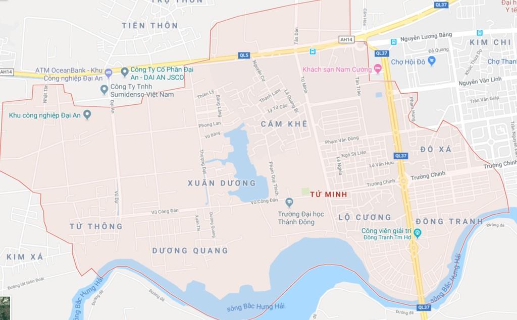 Dự án Đầu tư xây dựng Khu đô thị mới Xuân Dương, phường Tứ Minh, thành phố Hải Dương (tổng diện tích đất quy hoạch cho Dự án là 30,64 ha). Ảnh  minh họa