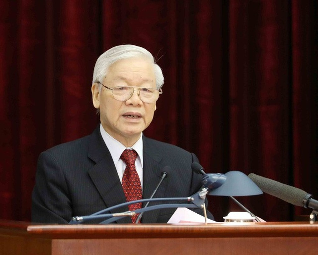 Tổng Bí thư Nguyễn Phú Trọng phát biểu khai mạc Hội nghị Trung ương 8