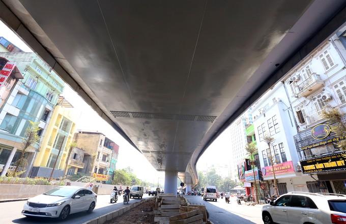 Cầu vượt hơn 300 tỷ đồng ở Hà Nội sắp thông xe - ảnh 5