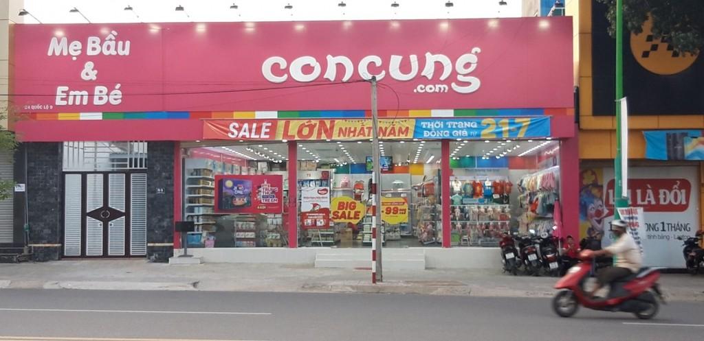 Một cửa hàng của Con Cưng ở Thành phố Đông Hà - Quảng Trị. Ảnh Internet