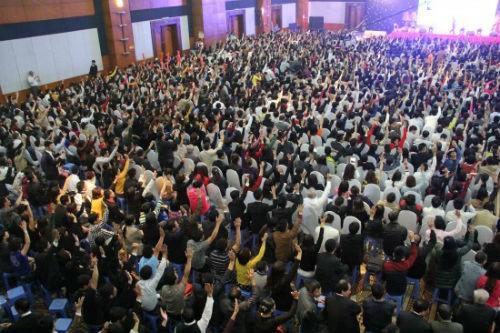 Công ty Đa cấp Thăng Long từng thu hút hàng nghìn người tham gia vào các cuộc hội thảo, bán hàng.