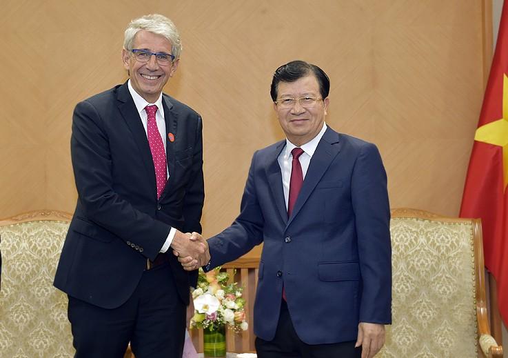 Khuyến khích doanh nghiệp Việt-Pháp đẩy mạnh hợp tác - ảnh 1