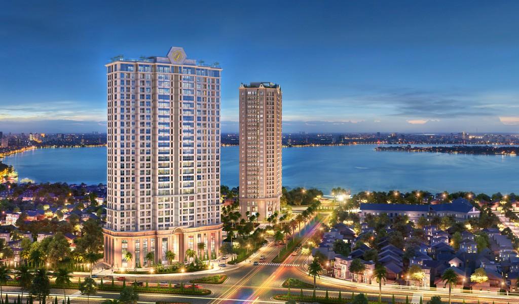 Lựa chọn ưu việt của nhà đầu tư trước sức hút căn hộ cho thuê ven Hồ Tây - ảnh 1