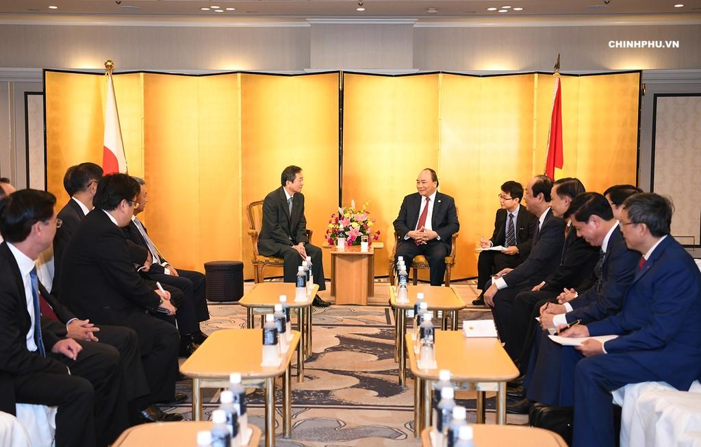 Thủ tướng tiếp một số doanh nghiệp Nhật Bản - ảnh 1