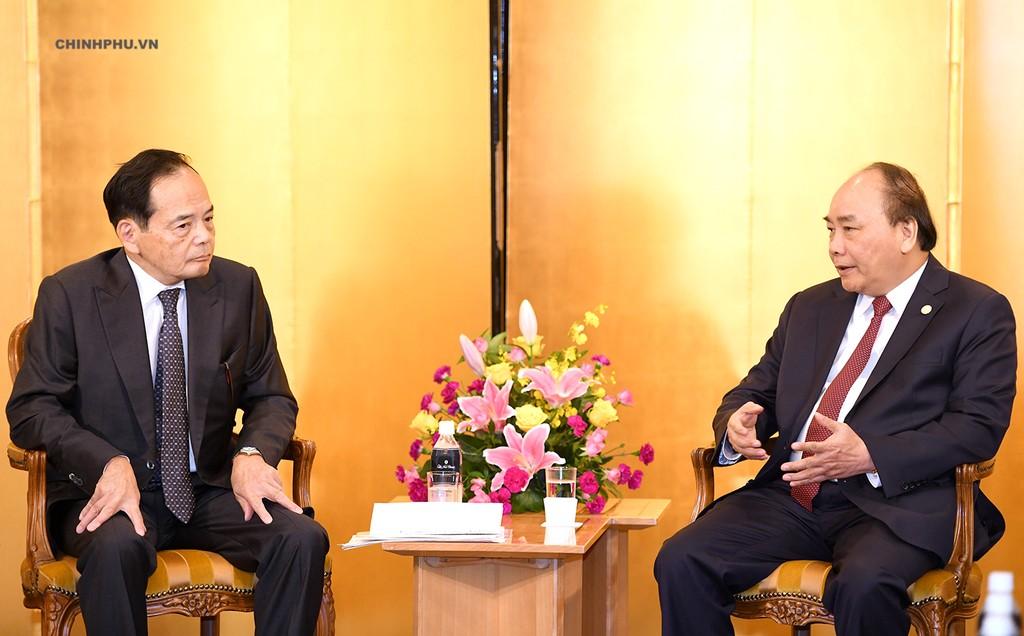 Thủ tướng tiếp một số doanh nghiệp Nhật Bản - ảnh 2