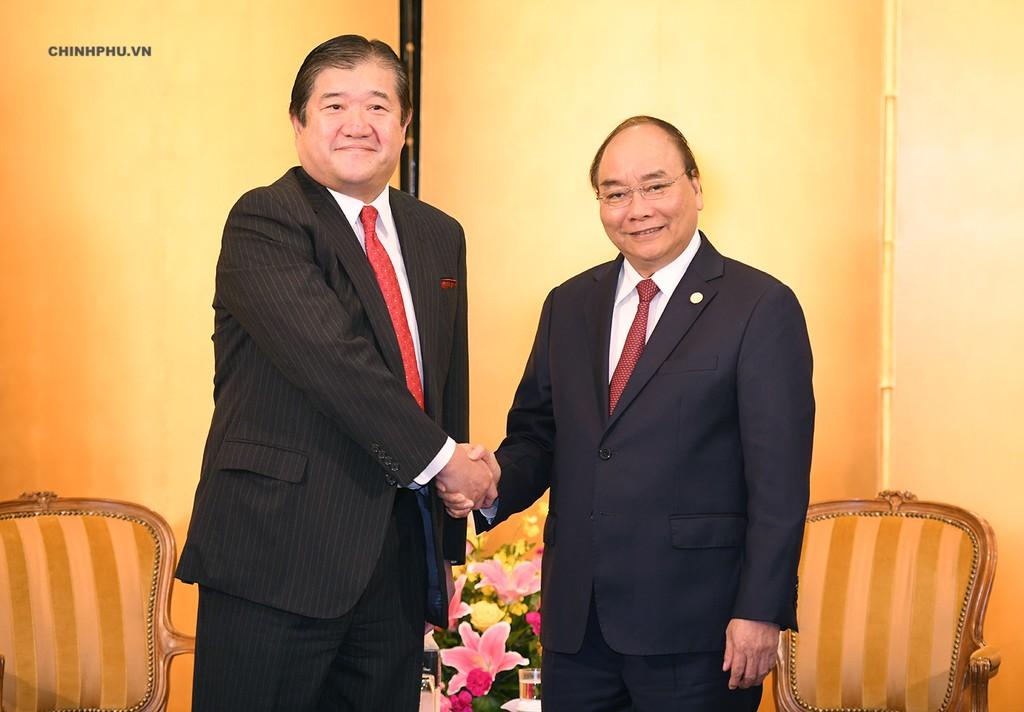 Thủ tướng tiếp một số doanh nghiệp Nhật Bản - ảnh 3