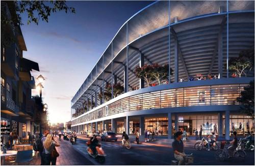 Hà Nội đề xuất xây tổ hợp thể thao Hàng Đẫy hơn 6.000 tỷ đồng - ảnh 1