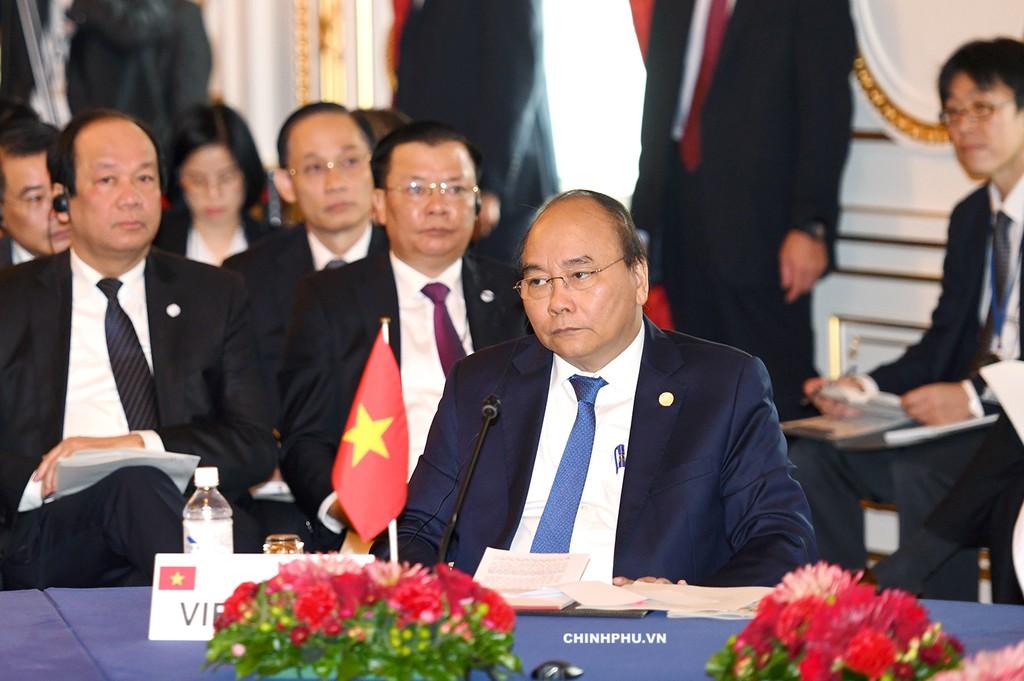 Các đề xuất của Thủ tướng Nguyễn Xuân Phúc tại Hội nghị Cấp cao hợp tác Mekong-Nhật Bản được hội nghị đánh giá cao và phản ánh trong các văn kiện của hội nghị. Ảnh: VGP