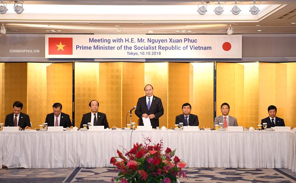 Thủ tướng phát biểu tại buổi Tọa đàm. Ảnh: VGP