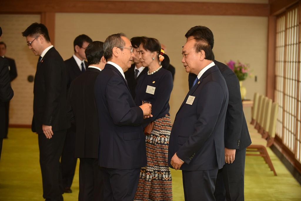 Thủ tướng cùng lãnh đạo các nước Mekong yết kiến Nhà vua Nhật Bản - ảnh 1