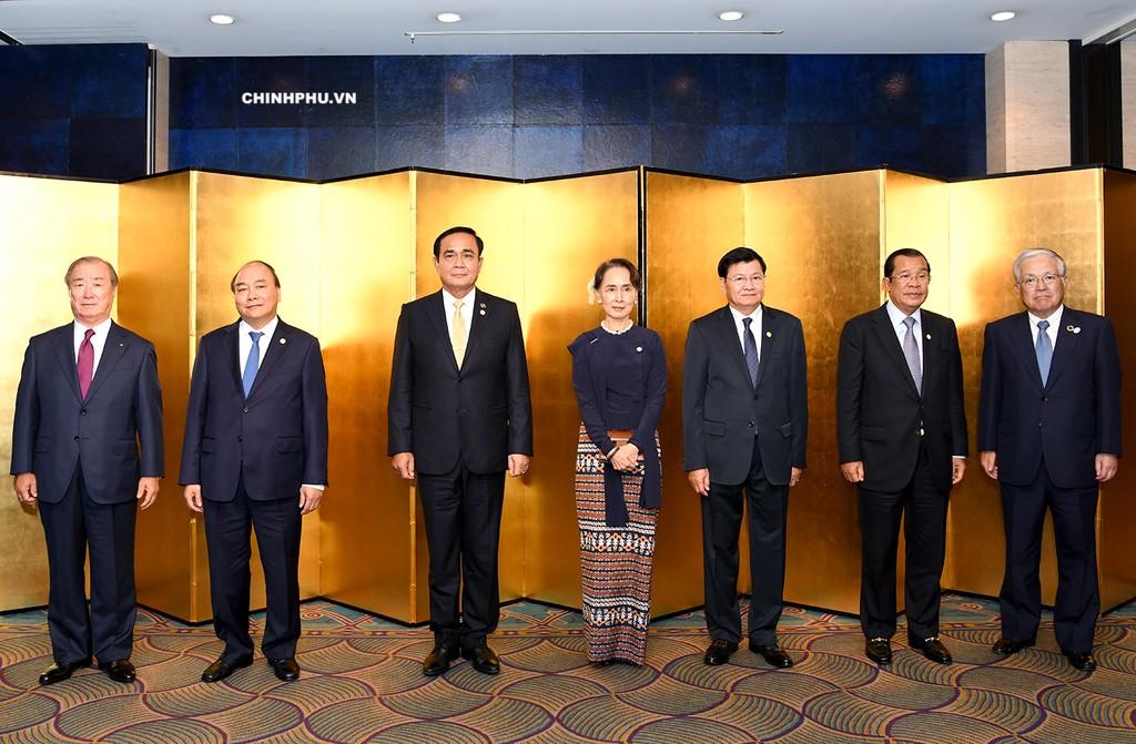 Thủ tướng cùng lãnh đạo các nước Mekong yết kiến Nhà vua Nhật Bản - ảnh 3
