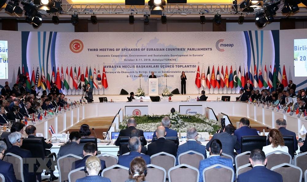Chủ tịch Quốc hội dự Hội nghị MSEAP3 - ảnh 1