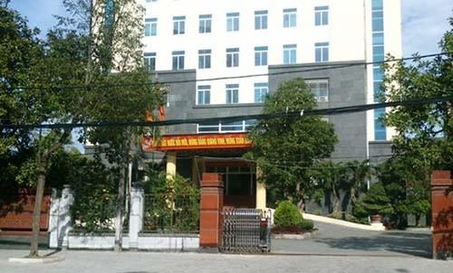 Sở Tài nguyên và Môi trường tỉnh Thanh Hoá.