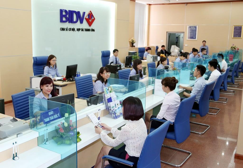 Hoạt động giao dịch tại BIDV