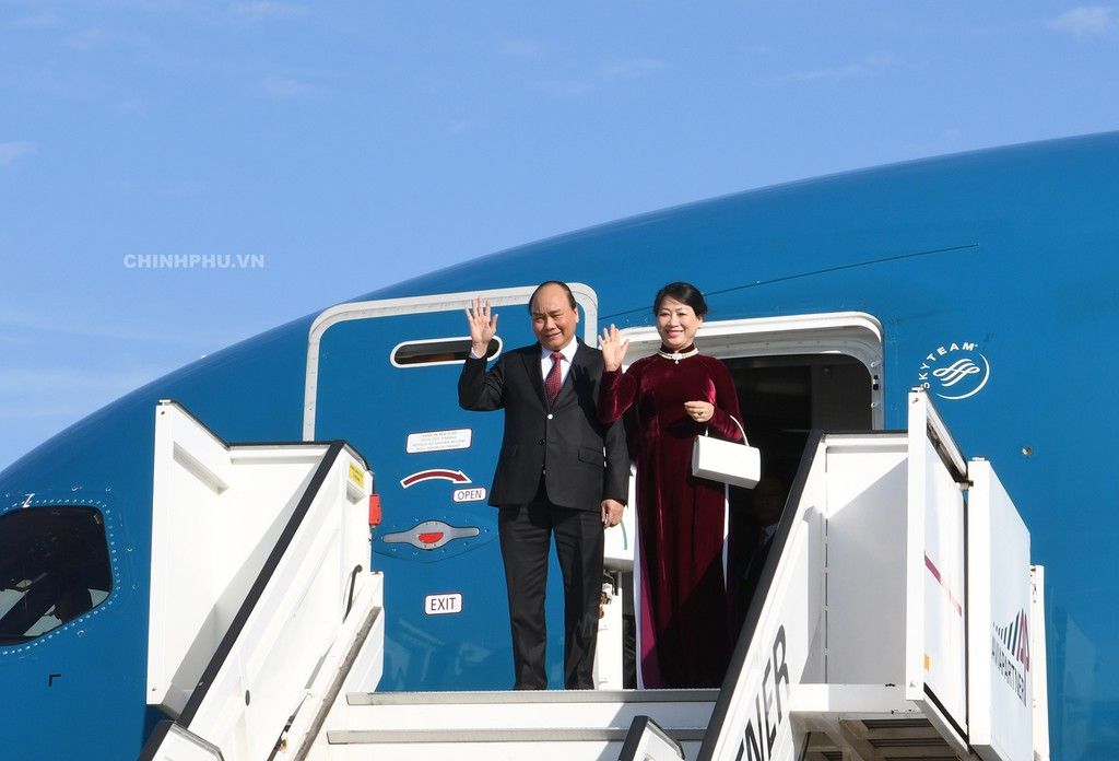 Thủ tướng bắt đầu thăm chính thức Vương quốc Bỉ - ảnh 1