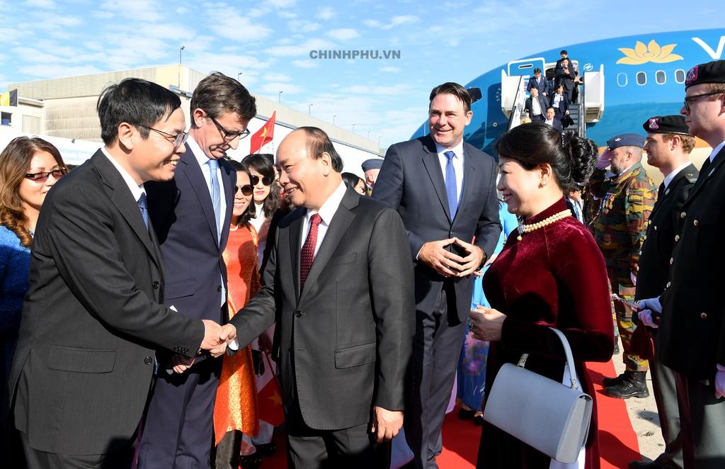 Thủ tướng bắt đầu thăm chính thức Vương quốc Bỉ - ảnh 2