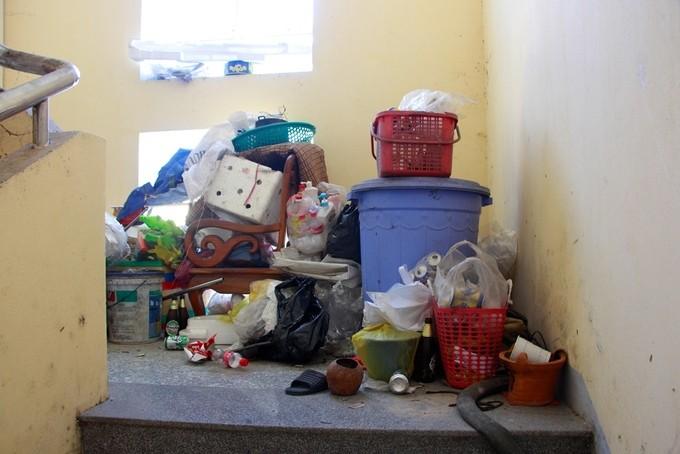 TP. Huế: Khu chung cư hơn 50 tỷ bị bỏ hoang - ảnh 7