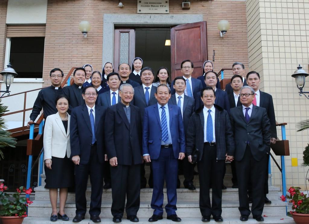 Phó Thủ tướng Trương Hòa Bình gặp gỡ cộng đồng người Việt tại Italia - ảnh 2
