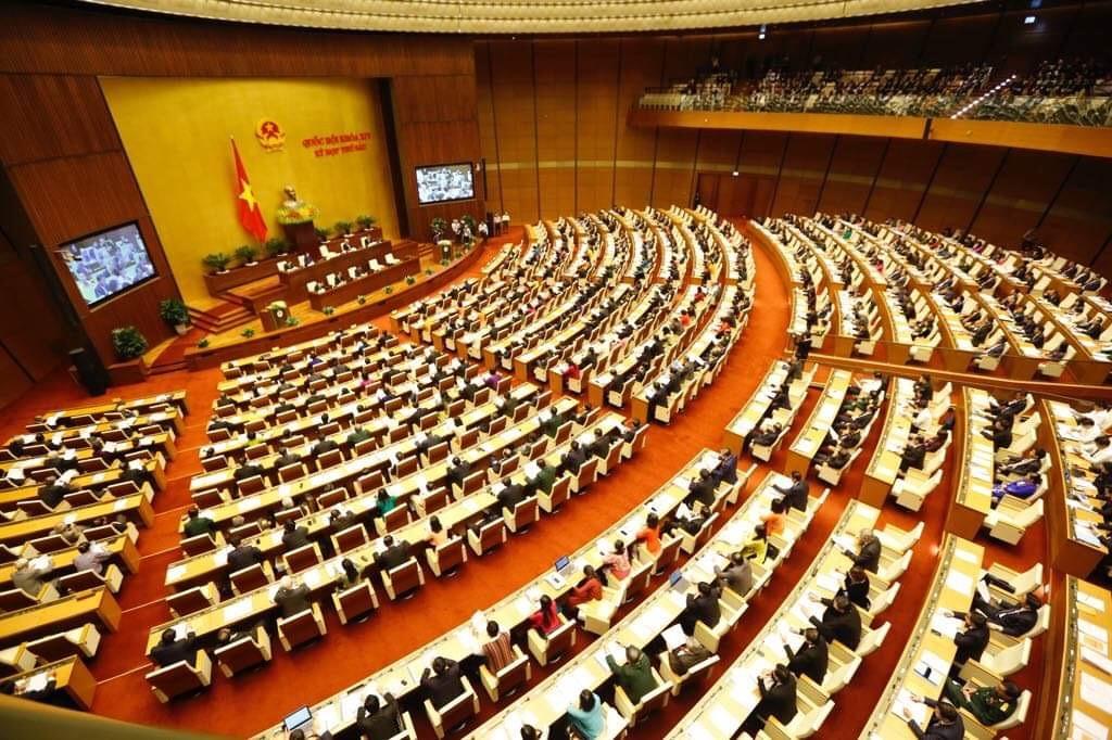Toàn cảnh: Khai mạc Kỳ họp thứ 6, Quốc hội Khóa XIV - ảnh 2