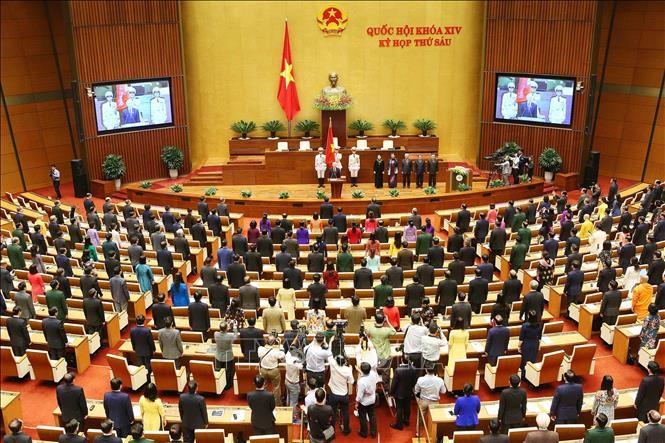 Hình ảnh Lễ tuyên thệ của Chủ tịch nước Nguyễn Phú Trọng - ảnh 5