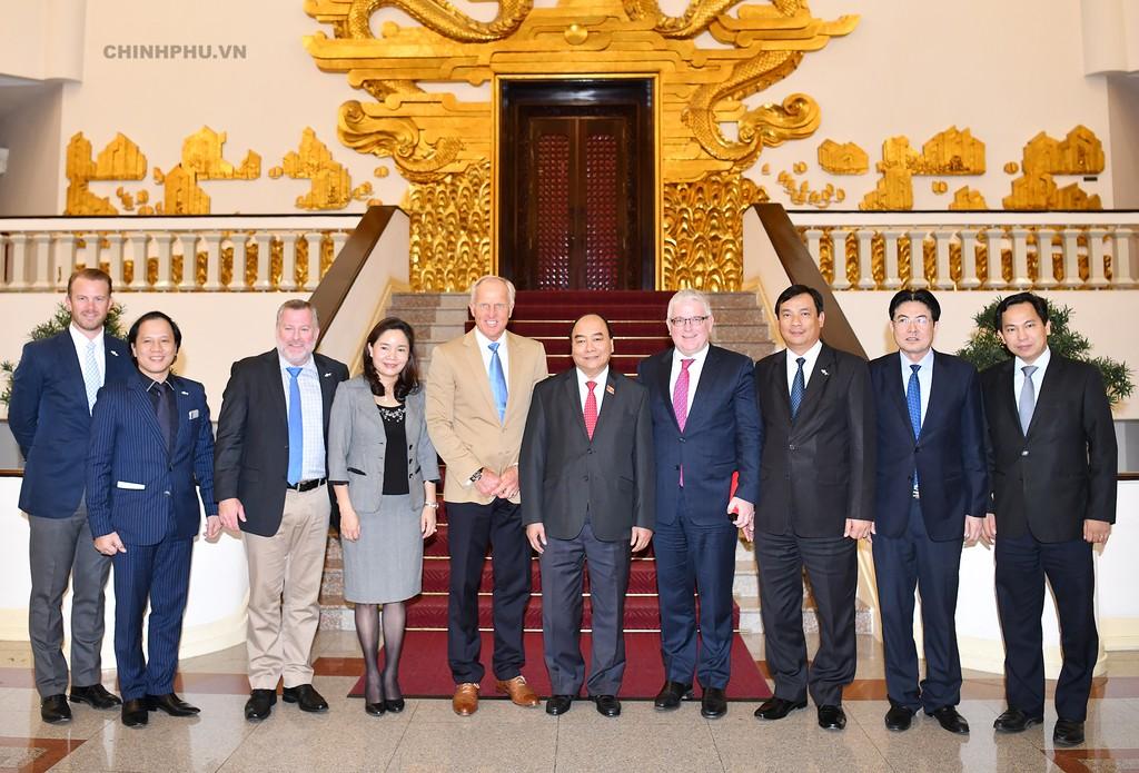 Thủ tướng tiếp Đại sứ du lịch Việt Nam - ảnh 1