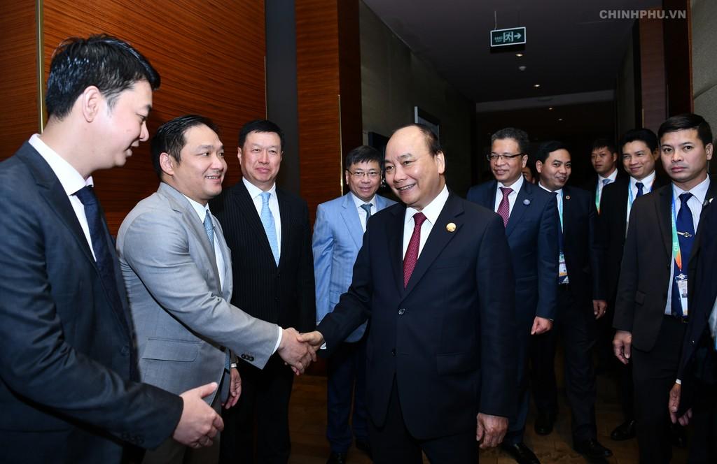 CHÙM ẢNH: Hoạt động của Thủ tướng tại Trung Quốc - ảnh 10