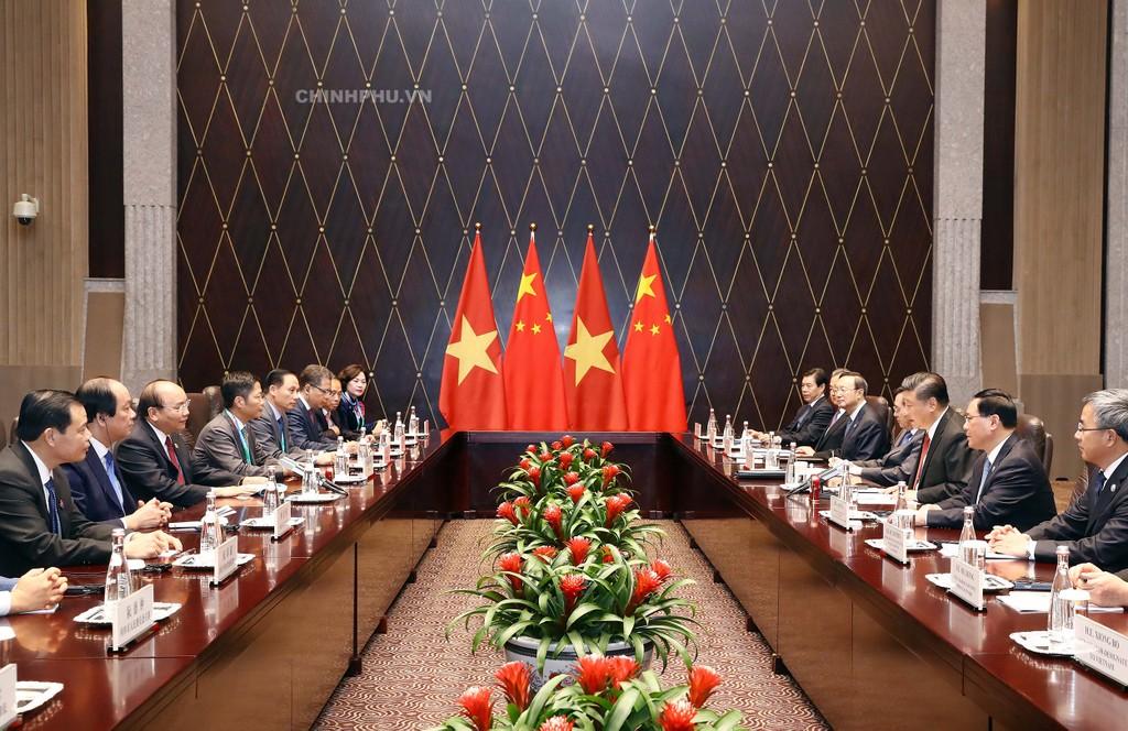 CHÙM ẢNH: Hoạt động của Thủ tướng tại Trung Quốc - ảnh 1