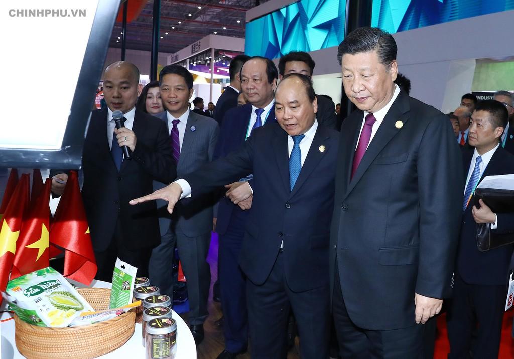 Thủ tướng dự Lễ khai mạc Hội chợ CIIE và Diễn đàn kinh tế thương mại quốc tế Hồng Kiều - ảnh 5