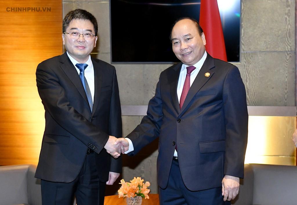 Thủ tướng dự khai trương Văn phòng xúc tiến thương mại thứ 2 của Việt Nam tại Trung Quốc - ảnh 5