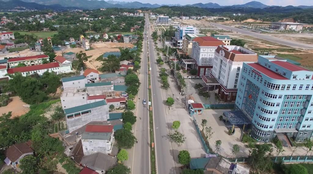 Một góc thành phố Cao Bằng. Ảnh minh họa: Internet