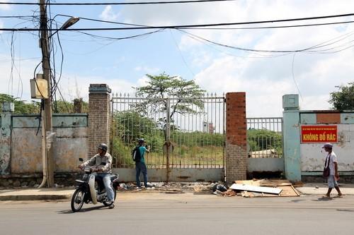 Bệnh viện Đồng Nai cũ nằm trên đường 30 Tháng 4 được xem là vị trí đắc địa của trung tâm TP Biên Hòa.