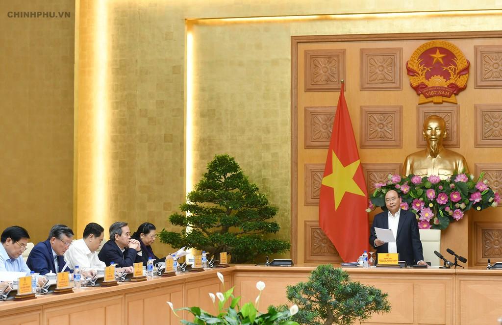 Thủ tướng chủ trì họp phiên đầu tiên của Tiểu ban Kinh tế - Xã hội - ảnh 1