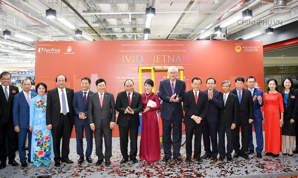 Thủ tướng khai trương sự kiện đặc biệt quảng bá hàng Việt tại Singapore - ảnh 5