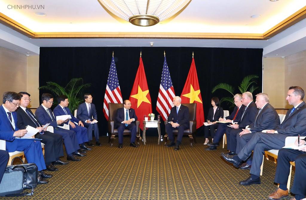 Thủ tướng tiếp Phó Tổng thống Hoa Kỳ - ảnh 1