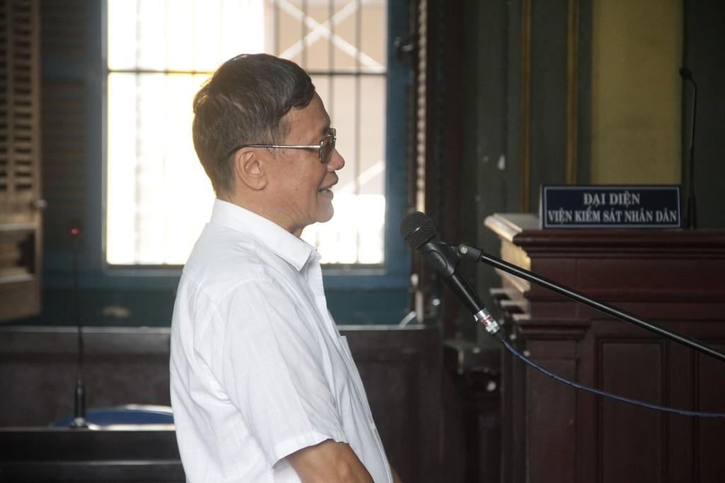 Bị cáo Dũng bị đề nghị 14 -15 năm tù.