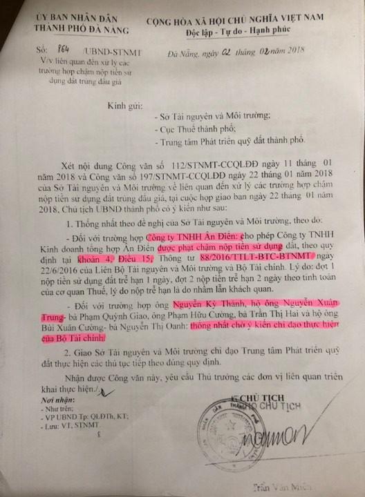 Đà Nẵng: Thêm một số hộ dân kêu oan vì trúng đấu giá nhưng không được giao đất - ảnh 2
