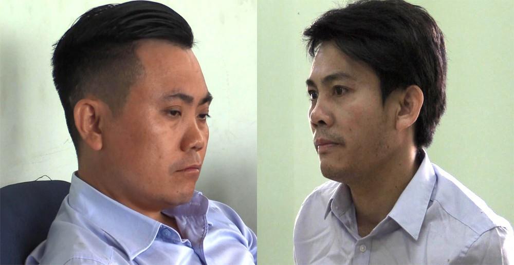 Trần Quốc Luật và Nguyễn Ngọc Hoà cùng đồng bọn đã lừa đảo chiếm đoạt hơn 9 tỷ đồng.