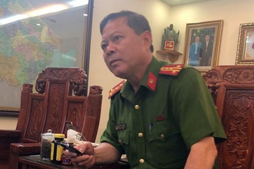 Đại tá Nguyễn Chí Phương, Trưởng công an thành phố Thanh Hóa. Ảnh Internet