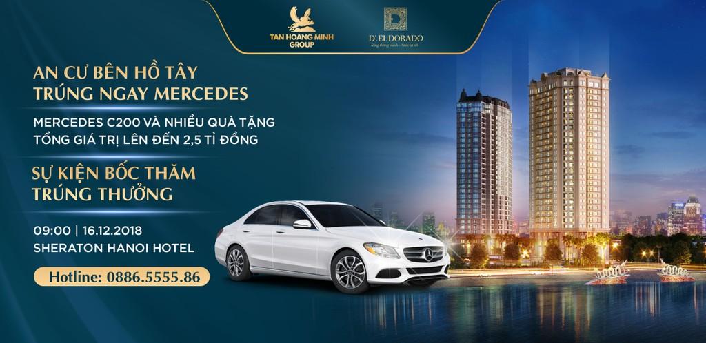 Tân Hoàng Minh dành 2,5 tỷ tri ân khách hàng mua căn hộ D'. El Dorado trong sự kiện cuối năm - ảnh 1