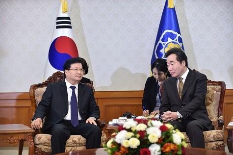 Quan hệ Việt Nam-Hàn Quốc phát triển ngày càng sâu rộng, hiệu quả - ảnh 1