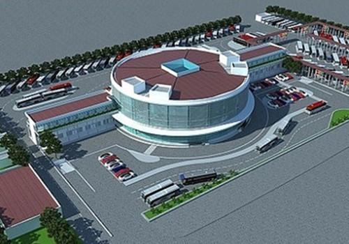 Phối cảnh thiết kế bến xe Yên Sở
