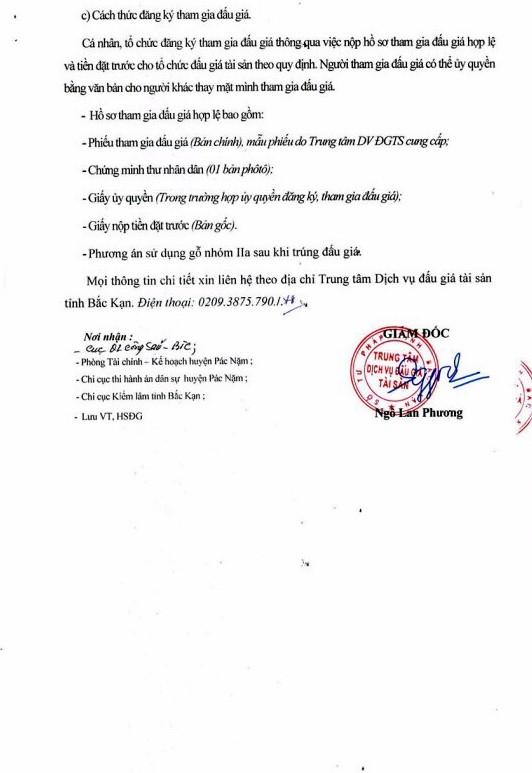Ngày 19/12/2018, đấu giá tang vật tịch thu tại tỉnh Bắc Kạn - ảnh 3