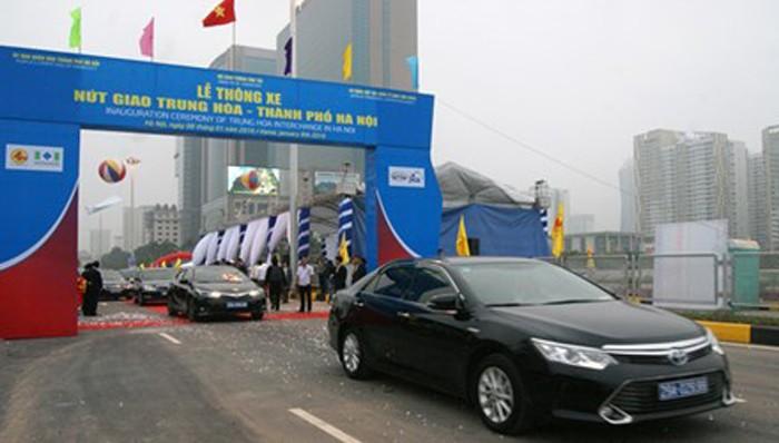 Hai hầm chui nghìn tỷ ở Hà Nội trong ngày thông xe - ảnh 1